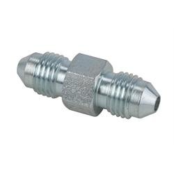 Steel Straight Adapter, -3 AN to -3 AN