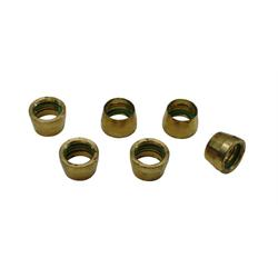 AC Brass Replacement Rings - AN10, Set of 6