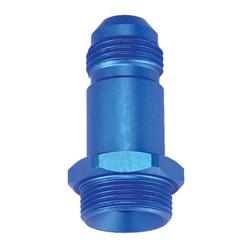 Carb Inlet Fitting Adapter, -8 AN to 7/8-20
