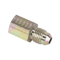 Gauge Fitting, Straight AN3 Male, 1/8 Inch NPT Female