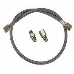 Braided Pressure Gauge Line Kit