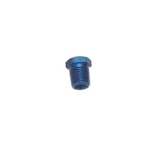 Aluminum Pipe Bushing Reducer Fitting, 3/8 NPT to 1/8 NPT