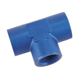 Aluminum Female Pipe Tee, 1/2 Inch