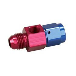 Fuel Pressure T-Off Fitting -6 AN Male - Female 1/8 NPT