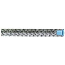 Aeroquip FCF0803 Stainless Steel Braided AC Hose, -8 AN, 3 Ft. Length