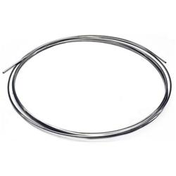 Speedway Stainless Steel Brake Line, 3/16 Inch, 20 Ft. Roll