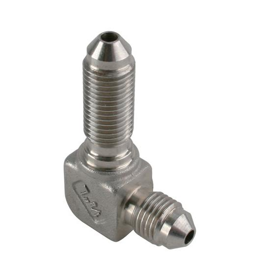 Stainless steel degree an bulkhead fitting