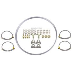 Mild Steel -3 AN Brake Line Kit
