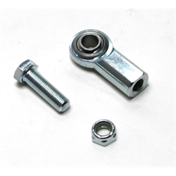 Garage Sale - Standard Steel Heim Joint Rod Ends, 3/8-24 RH Female w/ Bolt and Nyloc Nut