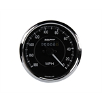 Auto Meter 201005 Cobra 4 Inch Mechanical Speedometer-Reverse Rotation