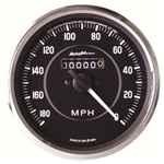 Auto Meter 201005 Cobra Mechanical Speedometer Gauge, 4 Inch