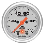 Auto Meter 4352 Ultra-Lite Digital Stepper Motor Oil Pressure Gauge