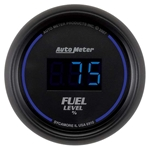 Auto Meter 6910 Cobalt Digital Fuel Level Gauge, 2-1/16 Inch