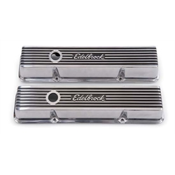 Edelbrock 4262 Elite Series Valve Cover Set, Small Block Chevy