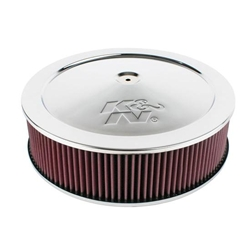 K&N 60-1300 Air Filter Assembly, 5in Tall, Red, Round