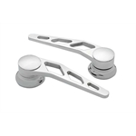 Lokar IDH-2011 Polished Billet Alum Door Handles, Ford Pre-1949, Pair