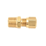 Air Suspension Tubing Male Connector Fitting, 3/8 Inch NPT - 3/8 Tubing