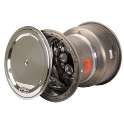 Weld 735B-51757 15x17 Splined Sprint Wheel, Mudcover, 7 Inch Offset