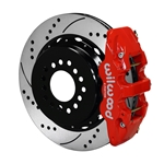 Wilwood 140-10941-DR AERO4 Rear Brake Kit, Chevy C-10, 2.42 Off 5-lug