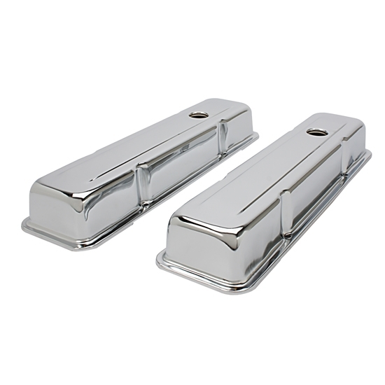 Small Block Chevy Short Chrome Valve Covers