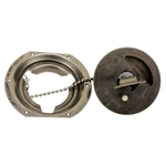 Flush Mount Aircraft Cap with Stainless Steel Mount