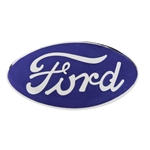 1934 Ford Blue Oval Radiator Emblem