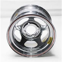 Garage Sale - Bassett 38ST4C 13X8 Inertia 4 on 4.5 4 Inch Backspace Chrome Wheel