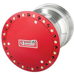 Sander 27-Spline Wheel, Outer Beadlock w/ Cover, 10 x 8 Inch, 3 Inch Offset