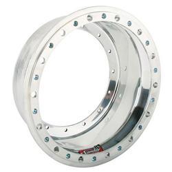 Sander Engineering 1-08L 15 x 8 Inch Wheel Outer Half with Beadlock