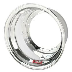 Sander Plain Outer Wheel Half, 15 x 10 Inch, No Beadlock