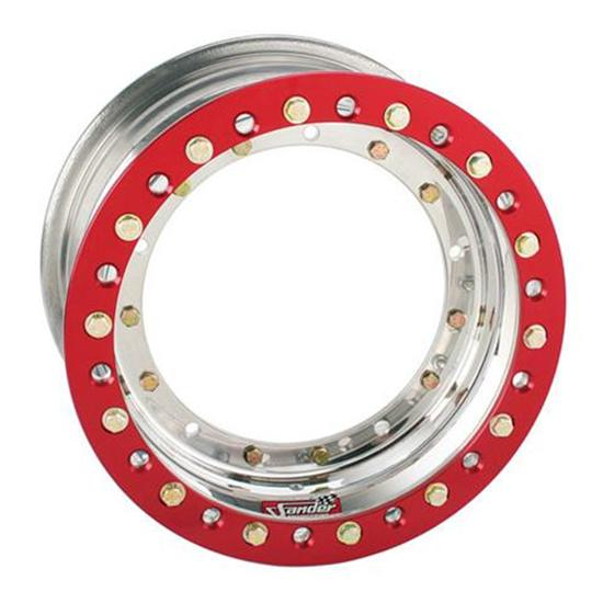 New Sander Racing 13 x 7 Direct Mount Beadlock Front Wheel 4 Offset
