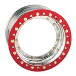 Sander Direct Mount Front Wheel, 13x8, 3 Inch Offset, Outer Beadlock