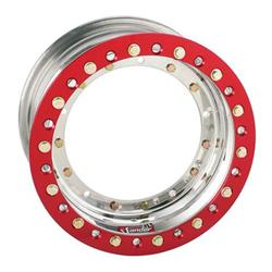 Sander Direct Mount Front Wheel, 13x8, 4 Inch Offset, Outer Beadlock