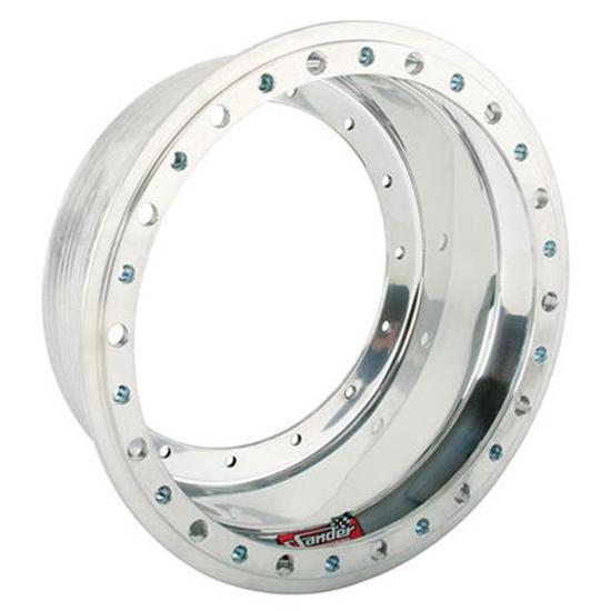 Sander Engineering 1-4L 13 x 4 Inch Outer Wheel Half with Beadlock