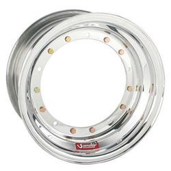 Sander Direct Mount Front Wheel, 15x9, 5 In Offset, No Beadlock/Cover