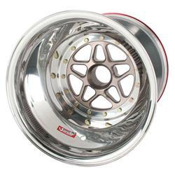Sander Splined Left Rear Wheel, Inner Beadlock, 15 x 14 In, 4In Offset