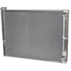 Afco 80185NDP-16 Double Pass Radiator -16AN Inlet 1-3/4 Inch Outlet
