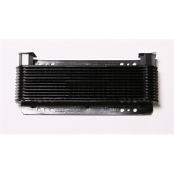 AFCO LB7B Stacked Plate Oil Cooler, 2-3/4 x 11 x 1-1/2 Inch, 12-Pass