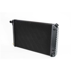 Dewitts 1239034A 1973-77 Chevelle SB/BB Direct Fit Radiator, Blk, Auto