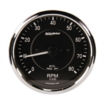 Auto Meter 201004 4 Inch Cobra Electric In-Dash Tachometer