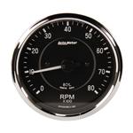 Auto Meter 201004 4 Inch Cobra Electric In-Dash Tachometer