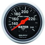 Auto Meter 3333 Sport-Comp Mechanical Water Temperature Gauge