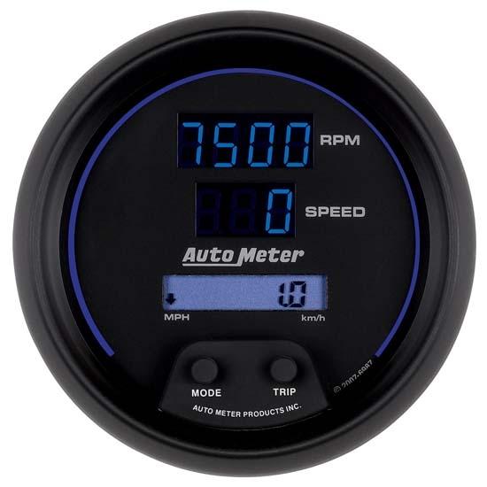 Auto Meter 6987 Cobalt Digital Tachometer  Speedometer