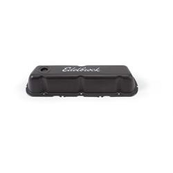 Edelbrock 4603 Signature Series Black Valve Cover Set, Ford