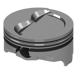 Icon Chevy 400 Forged Pistons, Dish, 6.0 Rod