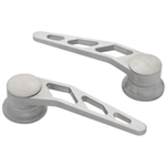 Lokar IDH-2008 Brushed Billet Aluminum Door Handle, GM, Ford 1949-Up