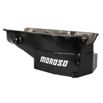 Moroso 21324 Circle Track Oil Pan w/ One Piece Rear Main Seal & Plug