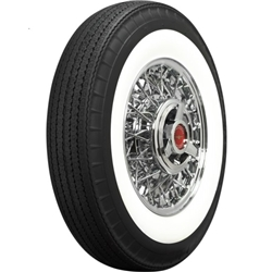 Coker 750R14 American Classic Bias-Look Radial 2.75 In Whitewall Tire