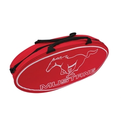 GOBOXES F2000RM Ford Mustang Canvas Bag - Red
