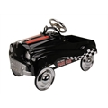 Big Race Pace Pedal Car, Black